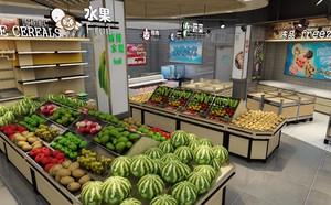 50平超市平面图,50平米小型超市装修效果图