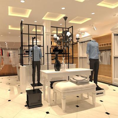 服装展会展厅设计效果图,国外服装展厅设计效果图