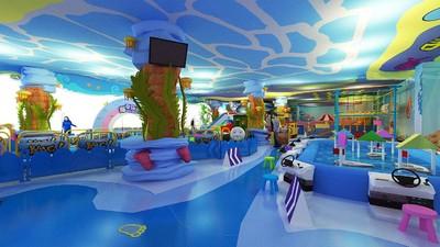 儿童游乐园设计图,儿童游乐园装修效果图