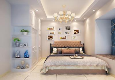 朝阳客厅改一半卧室效果图,30平米客厅改一半卧室效果图