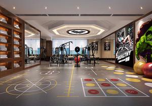 健身房设计平面布置图,健身房的平面布置图