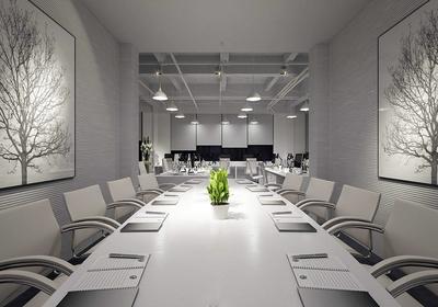 小型会议室背景效果图大全,小型会议室背景墙设计效果图