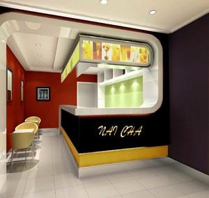 奶茶店面怎样装修,25平米奶茶店面装修效果图