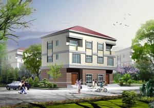 160平米农村别墅设计图,占地160平米农村三层小别墅设计图