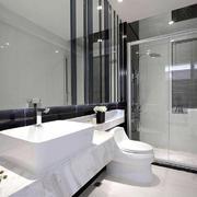 卫生间现代瓷砖小户型装修