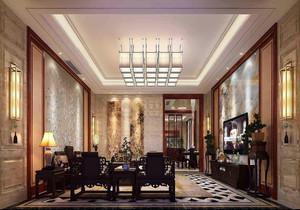 客厅中式复古装修效果图,室内中式复古装修效果图大全