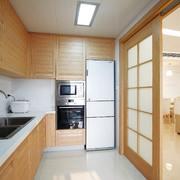 厨房现代隔断90平米装修