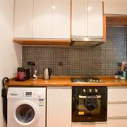 厨房现代窗帘90平米装修