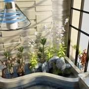 空间其他精致花园不规则户型装修