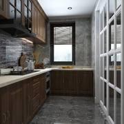 厨房中式局部90平米装修