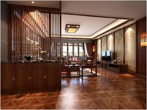 新中式客餐厅装修效果图,年轻人要的新中式客餐厅效果图