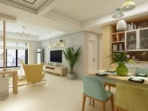 小户型客厅与餐厅连体效果图,客厅与餐厅连体吊顶效果图