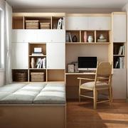 书房现代榻榻米小户型装修