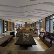 客厅现代沙发别墅装修