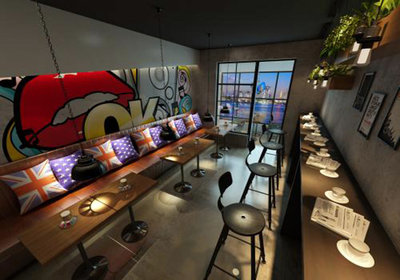 小面积餐饮店面装修效果图大全,20平方餐饮店面装修效果图