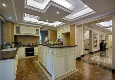 厨房客厅一体怎么装修,厨房客厅一体吊顶装修效果图