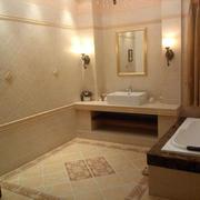 卫生间美式瓷砖一居室装修