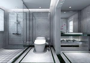 一平迷你卫生间装修效果图,迷你无窗卫生间装修效果图