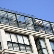 阳台现代局部一居室装修