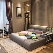 卧室现代榻榻米80平米装修