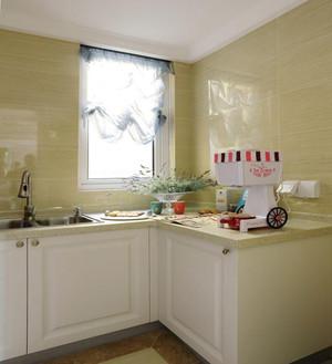 厨房落地窗窗帘装修效果图,别墅厨房窗帘装修效果图