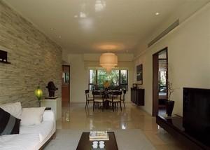 客厅与餐厅连体效果图,客厅与餐厅长方形连体效果图