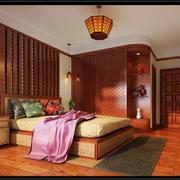 卧室东南亚局部100平米装修