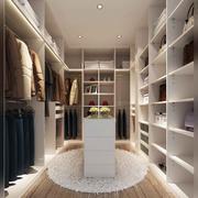 卧室现代衣帽间90平米装修