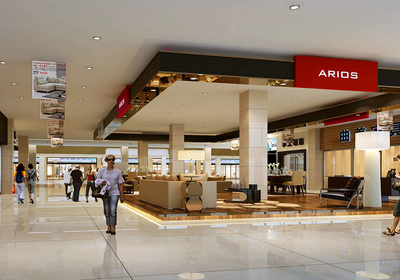 重庆商场柜台装修,重庆商场装修设计