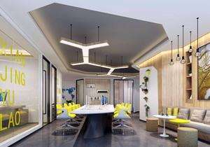 传媒公司办公室装修效果图,传媒公司150平米装修效果图