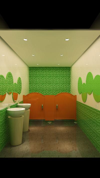 高档幼儿园卫生间装修效果图,幼儿园的卫生间装修效果图大全2019图片