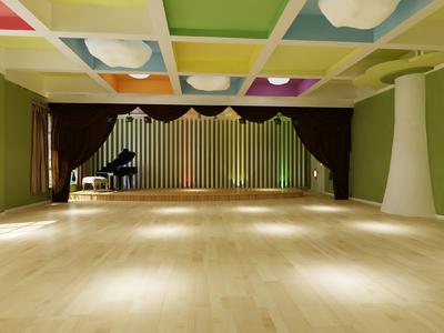 培训学校大厅吊顶装修效果图,儿童培训学校大厅吊顶装修效果图