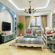 客厅地中海局部一居室装修