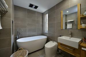 卫生间洗手盆瓷砖装修效果图,卫生间洗手盆在外面装修效果图