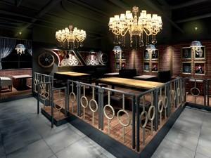 欧式音乐酒吧装修效果图,音乐酒吧顶面装修效果图