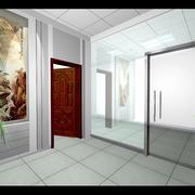 客厅现代踢脚线90平米装修