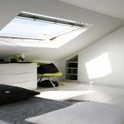 卧室现代阁楼90平米装修