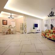 空间其他简约走廊一居室装修