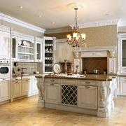 厨房欧式壁柜一居室装修