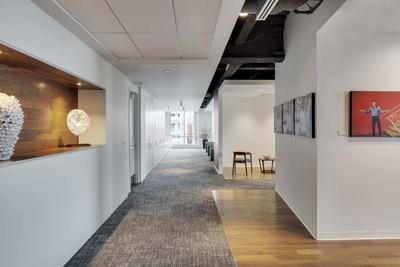 办公室过道设计效果图,办公室过道效果图大全