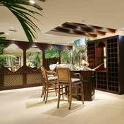客厅东南亚局部别墅装修