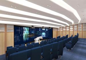 视频会议室布线效果图,政府视频会议室效果图