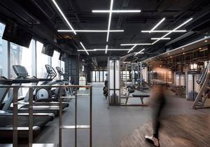 国外健身房设计效果图,健身房设计装修效果图