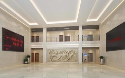 政府办公室过道效果图,办公室楼过道装修效果图大全