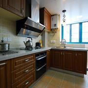 厨房简约橱柜一居室装修