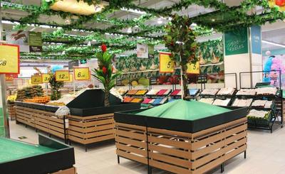 超市吊顶装修效果图大全,超市最新吊顶装修效果图大全