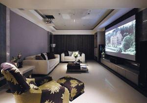客厅做投影怎么装修效果图,有投影仪的客厅装修效果图