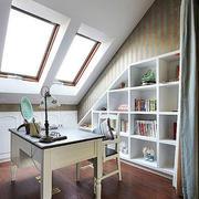 书房现代阁楼小户型装修