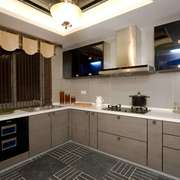 厨房现代局部90平米装修