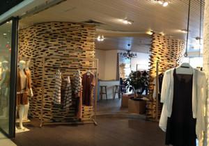 欧式复古服装店格装修效果图大全,欧式小型服装店装修效果图